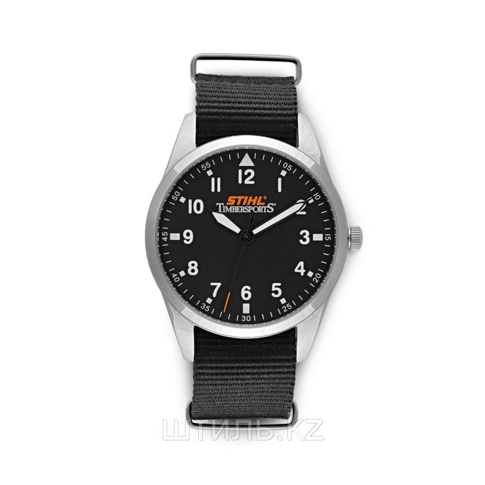 Часы наручные Stihl Timbersports (04645850040) сталь, водонепроницаемые