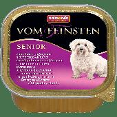 Консервы VOM FEINSTEN SENIOR с мясом домашней птицы и ягненком д/собак старше 7 лет-150гр.