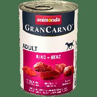 Консервы Grand Carno Original Adult с говядиной и сердцем-400гр.