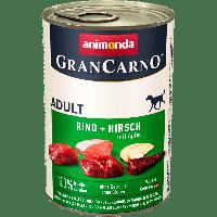Консервы GranCarno Original с говядиной и олениной с яблоками - 800гр.