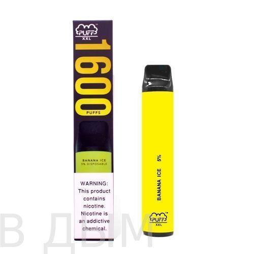 Puff XXL 1600 Банановый Лед / Banana Ice