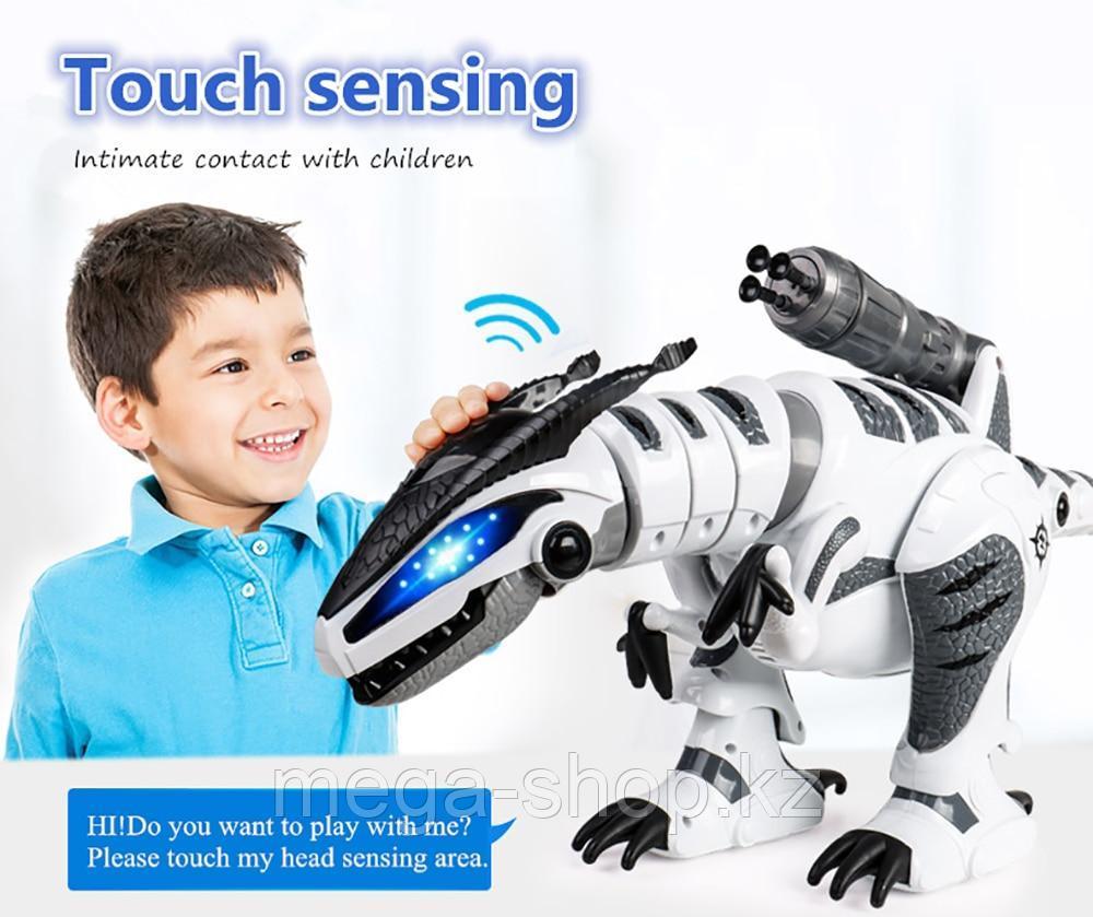 Интерактивный робот динозавр на пульте управления К9 le neng