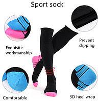 OSKY 11 Спортивные компрессионные носки для бега до колен, медицинские