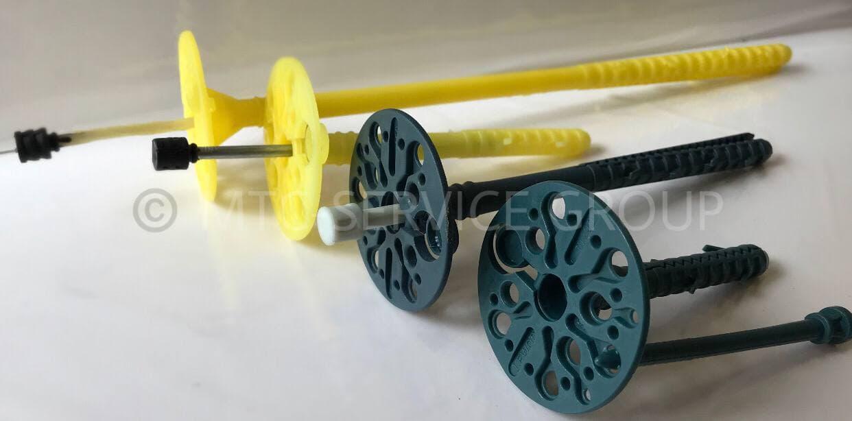 Дюбель LEWOD PREMIUM DLP 10P-120 с пластиковым гвоздём