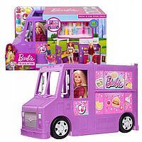 """Barbie Игровой набор автобус-трансформер """"Кафе на колесах"""", фото 1"""