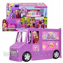 """Barbie Игровой набор автобус-трансформер """"Кафе на колесах"""""""
