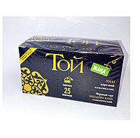Чай черный крупнолистовой в пакетиках Той (25 пак)