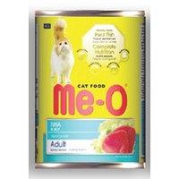ME-O Влажный корм в консервах для кошек в желе со вкусом тунца 400 г