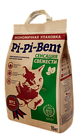 Pi-Pi-Bent Сенсация свежести комкующийся наполнитель 10 кг
