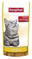 Beaphar Vit Bits подушечки с мультивитаминной пастой для кошек
