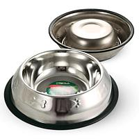 Triol Миска 1555 металлическая на резинке с тиснением, 0,80л АРТ 30261012