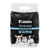 ГАММА Пеленки для животных 600*900 мм (уп 30 шт) АРТ 30552007