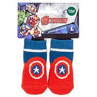 Disney Носки Marvel Капитан Америка, размер L АРТ 12231035
