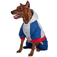 Disney Комбинезон зимний Marvel Капитан Америка M, размер 30см АРТ 12211392
