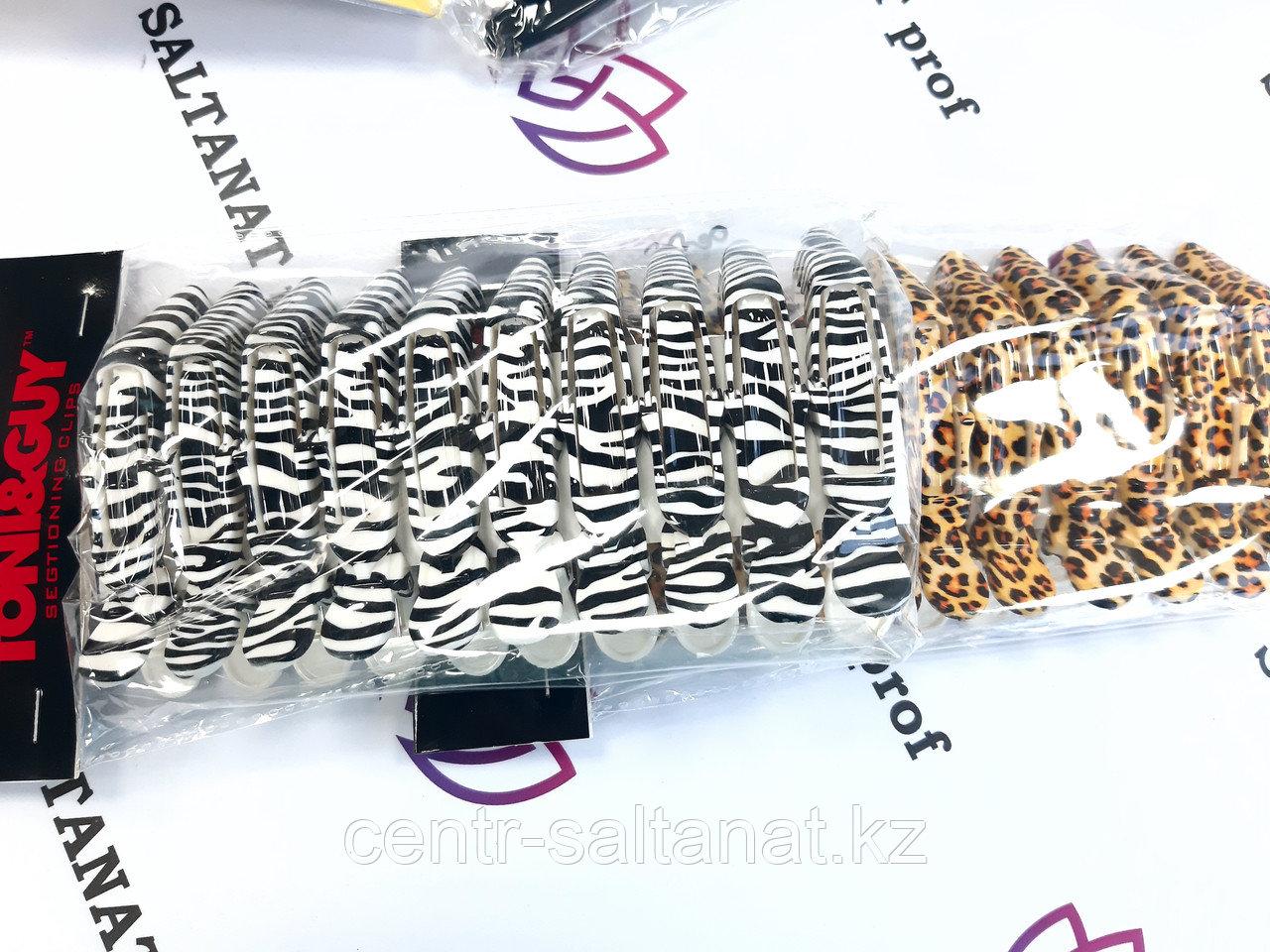 Зажимы для волос зебра