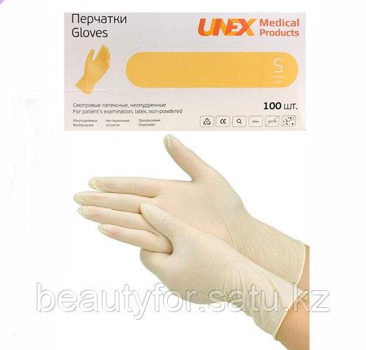 Перчатки латексные 100 шт/упак. Размер S,M,L