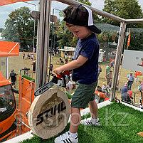 Цепная пила игрушечная Stihl Chainsaw на батарейках, фото 2