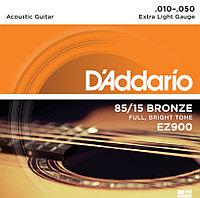 Струны акустических гитар D'ADDARIO EZ900
