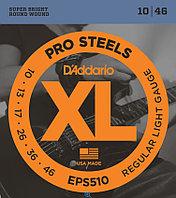 Струны для электрогитары D'Addario EPS510