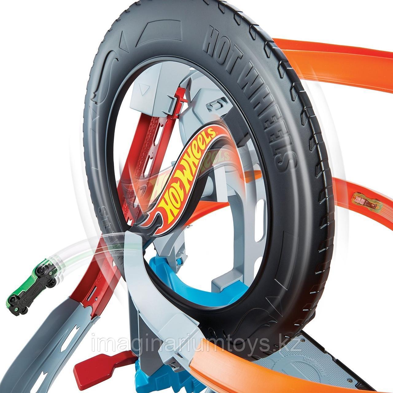 Трек Hot Wheels моторизованный «Шиномонтажная мастерская» - фото 7