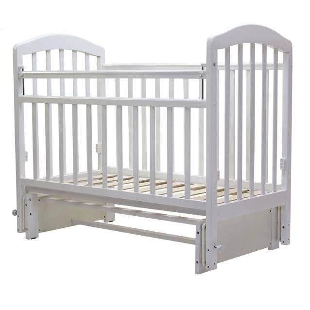 """Кровать детская Топотушки """"Лира-5"""" (Кровать  детская Топотушки """"Лира-5"""", (белый), состав - дерево (береза),"""