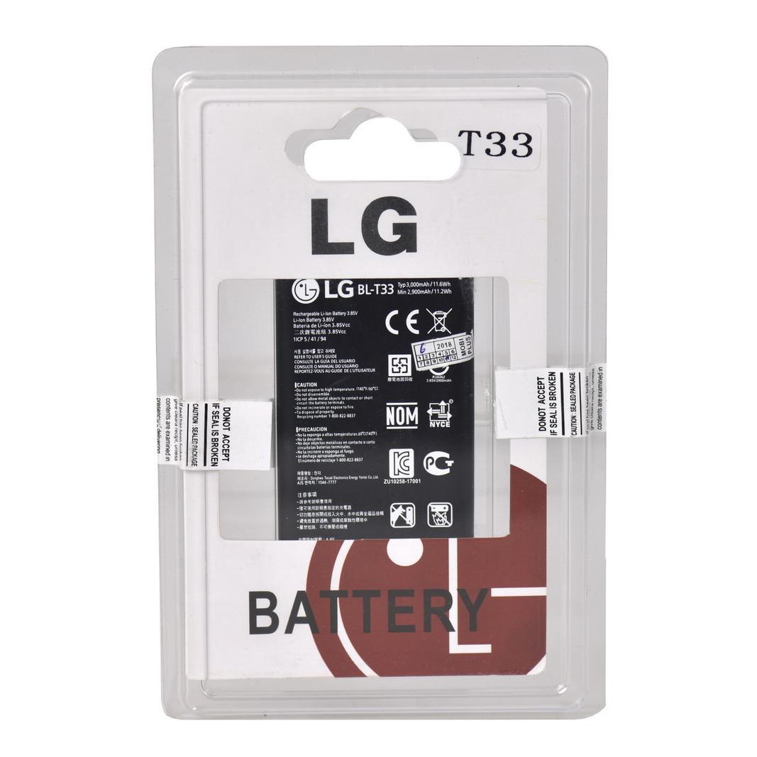 Аккумулятор LG BL-T33 Q6, M700N, M700A, M700DSK, M700AN, Q6a 3000mAh Plastic Box