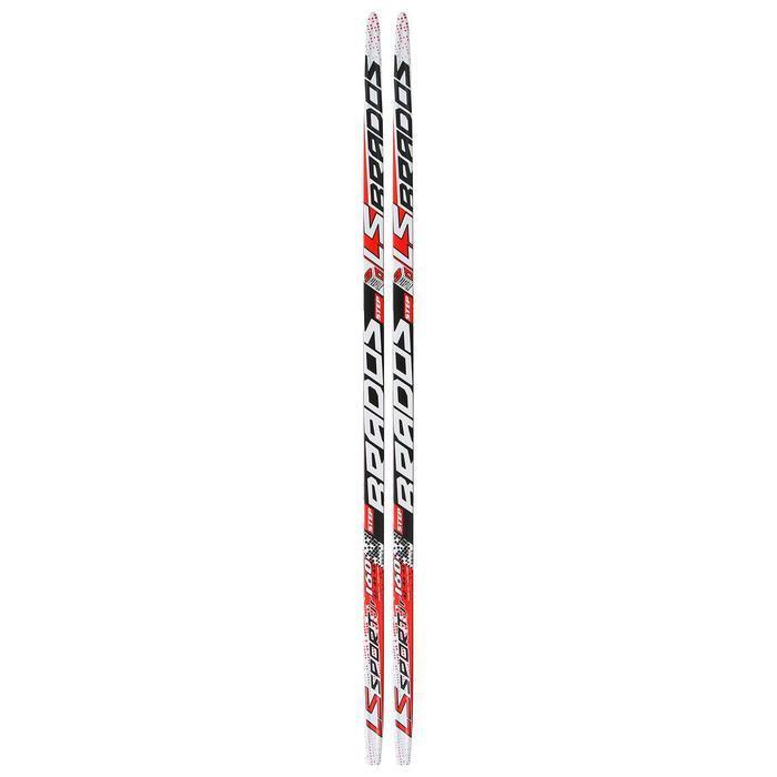 Лыжи пластиковые БРЕНД ЦСТ step, 160 см, цвета микс