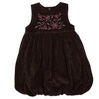 Сарафан для девочки, рост 140-146 см (36), цвет коричневый 1210-СБ-11
