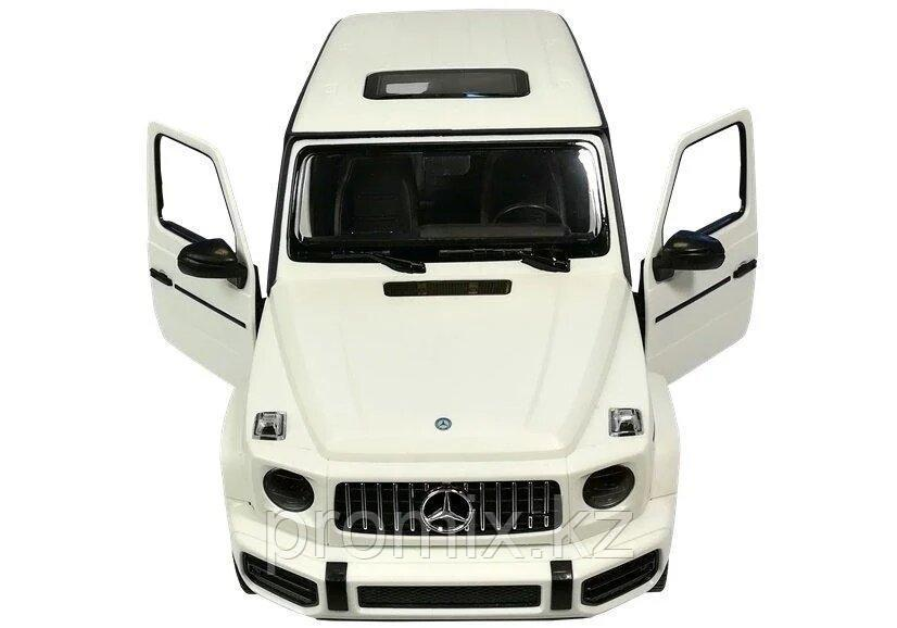 Радиоуправляемая машина Rastar Mercedes-Benz AMG G63, 1:14, White - фото 5
