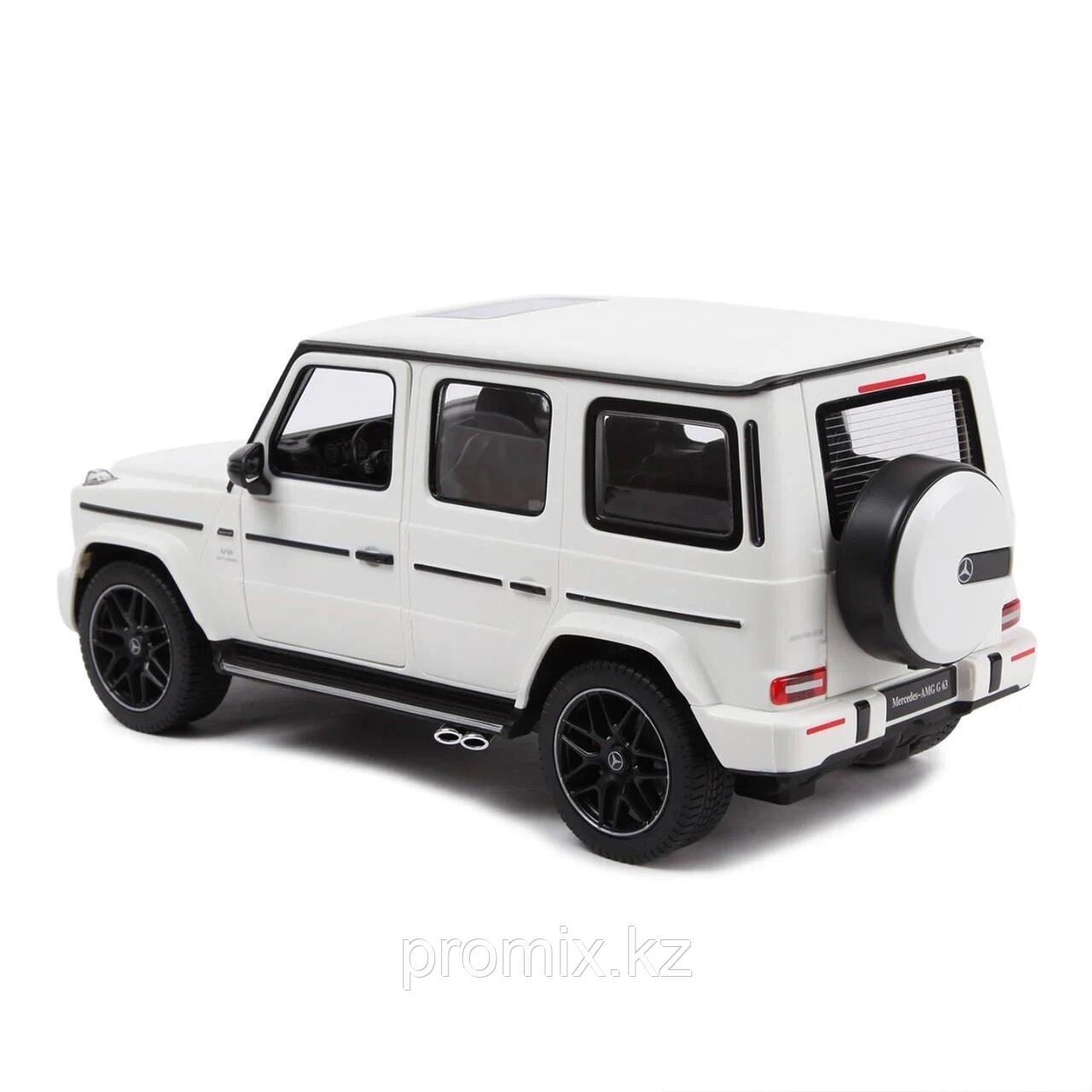 Радиоуправляемая машина Rastar Mercedes-Benz AMG G63, 1:14, White - фото 2