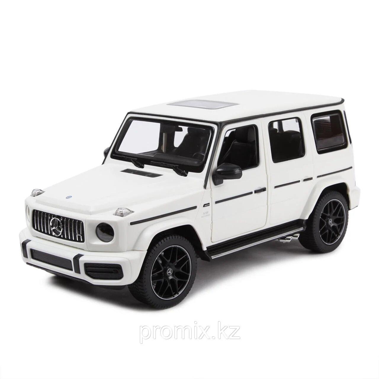 Радиоуправляемая машина Rastar Mercedes-Benz AMG G63, 1:14, White - фото 1
