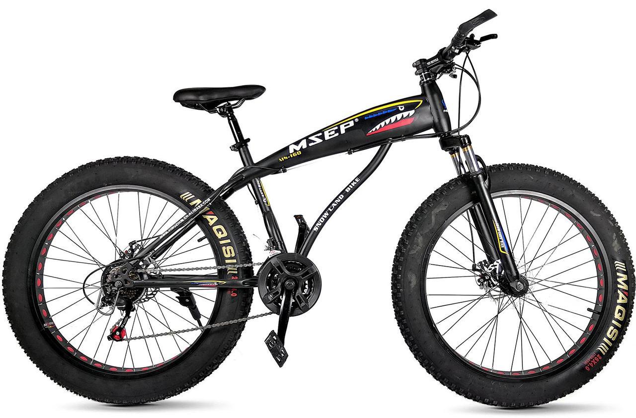Горный велосипед FAT BIKE MSEP Shark D 26'