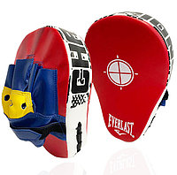 Лапа-перчатка для бокса вогнутая Everlast красная