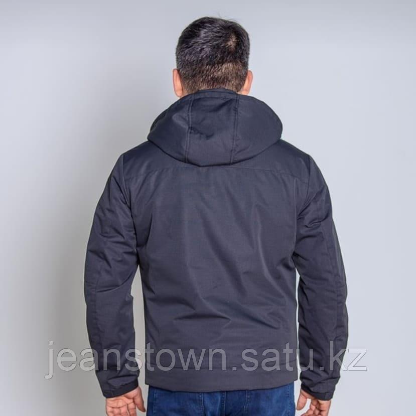 Куртка мужская демисезонная Vivacana черная короткая - фото 3