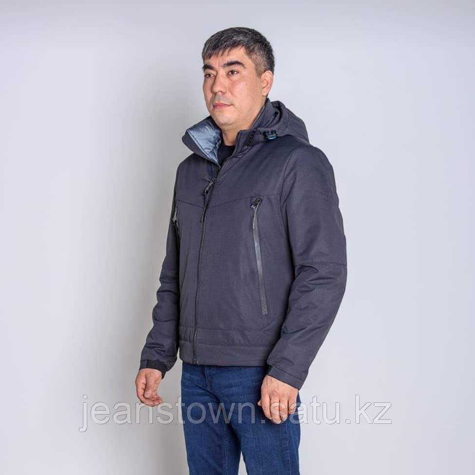 Куртка мужская демисезонная Vivacana черная короткая - фото 2