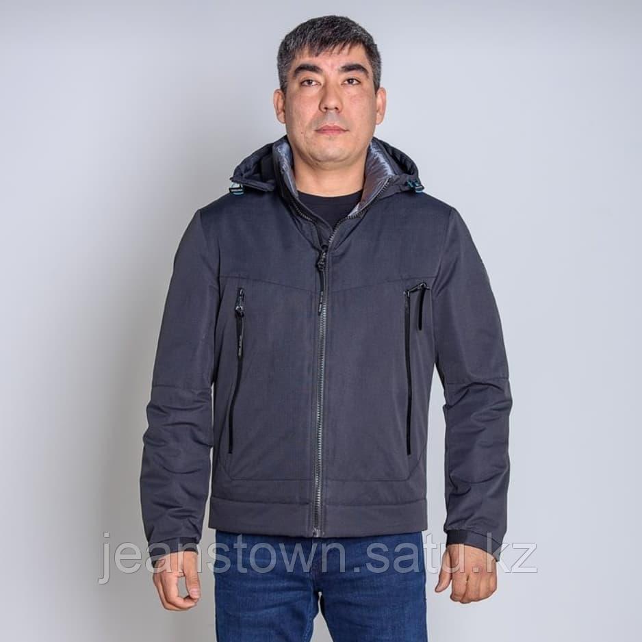 Куртка мужская демисезонная Vivacana черная короткая - фото 1