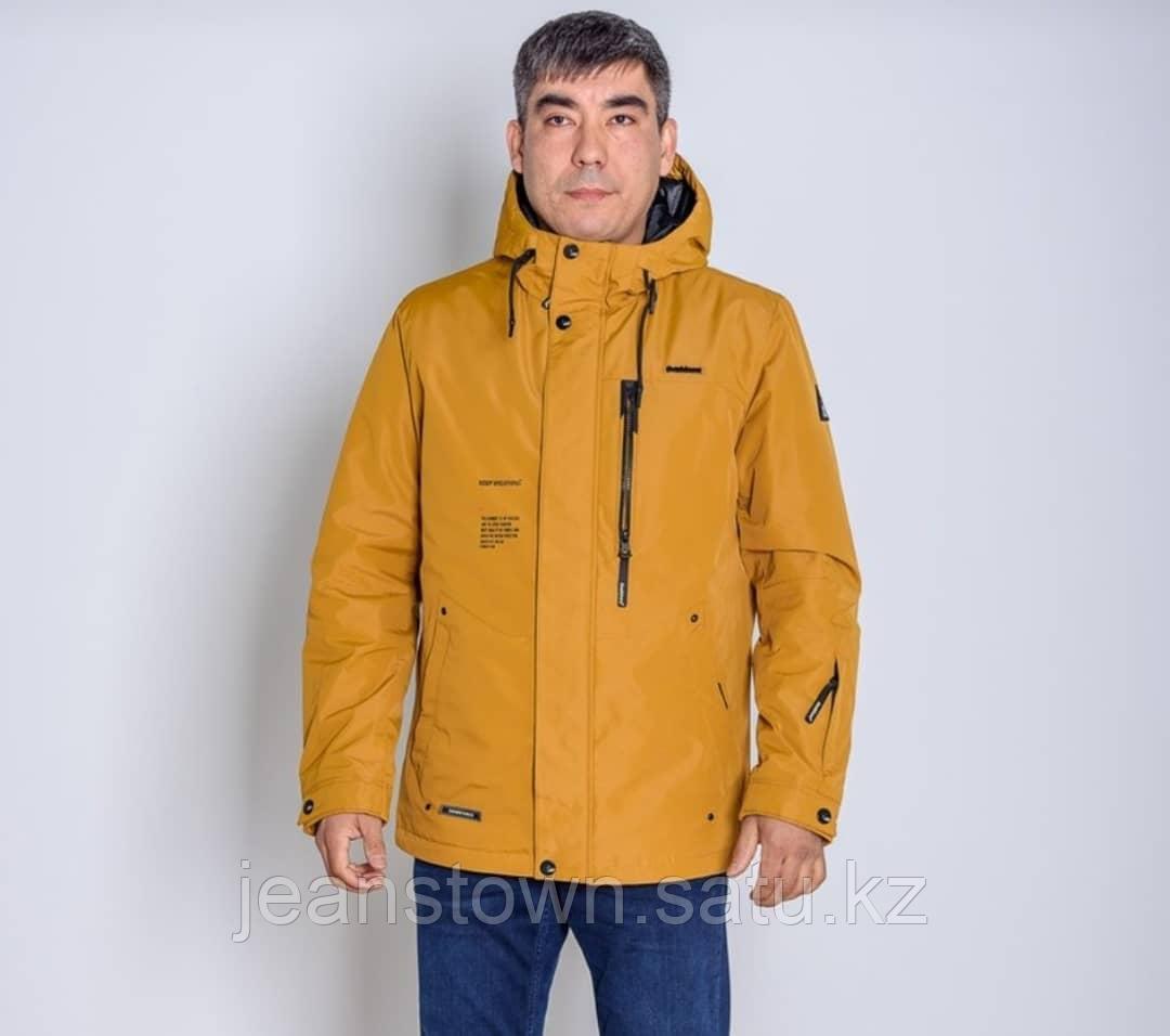 Куртка мужская  демисезонная Shark Force  горчичная  короткая