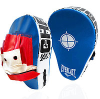 Лапа-перчатка для бокса вогнутая Everlast синяя