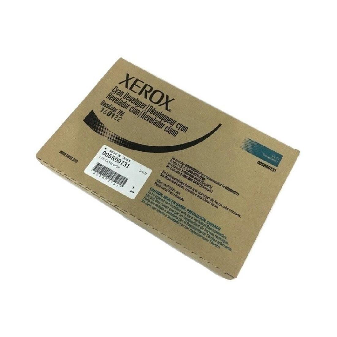 Проявитель Xerox 505S00031 / 005R00731 (голубой)