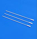 Зонд тампон для ротоглотки с пластиковым аппликатором, стерильные 2,5*150мм, фото 3