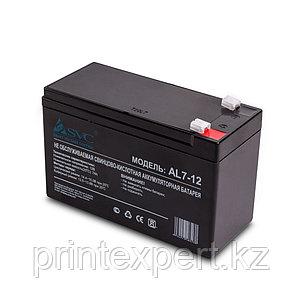 Аккумуляторная батарея SVC AL7-12 12В 7 Ач (слаботочка), фото 2