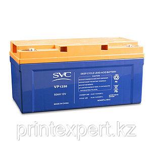 Аккумуляторная батарея SVC VP1250 12В 50 Ач (350*165*178), фото 2