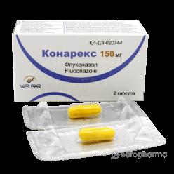 Конарекс капсулы 150 мг №2