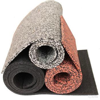 Напольное резиновое покрытие