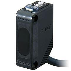 E3Z-D62 2M Датчик фотоэл. прямоуг. E3Z, диффузный, ИК-свет, 1м, NPN, кабель 2м