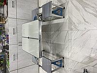 Стол туристический алюминиевый и 4 стула