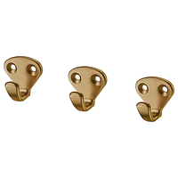Крючок, КВАСП желтая медь ИКЕА, IKEA