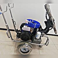 Безвоздушный распылитель левкас, водоэмульсия и краски