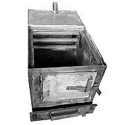 """Угольный котел-печь """"Пол Плиты М"""" (41х41) под мал.плиту на 120 кв.м / 12 кВт"""