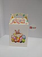 Коробка подарочная 12*15*10 см Пасха